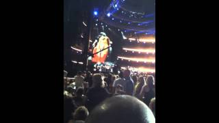 faith hill performing illusion cma fest 2012
