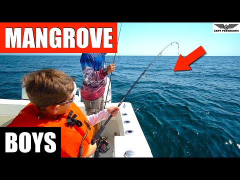 Mangrove Snapper Fishing St. George Island, Florida