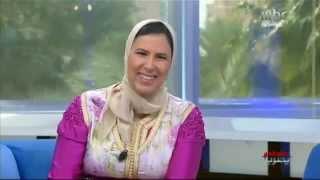 Hanane Bennani sur MBC -Sabah Alkhair Ya Arab 2014-