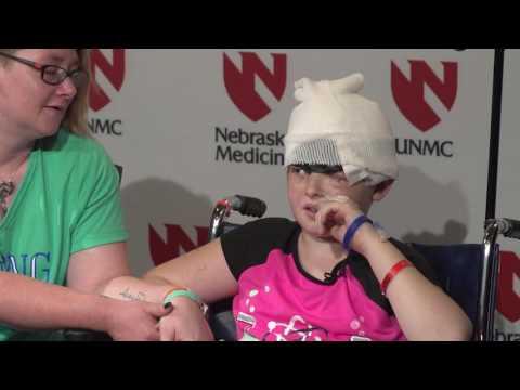 Elizabeth Gilreath Addresses The Media - Nebraska Medicine