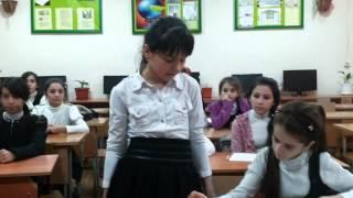 "Урок-технология ""Виды тканей"" МКОУ СОШ №11 г.Хасавюрт 2015г."