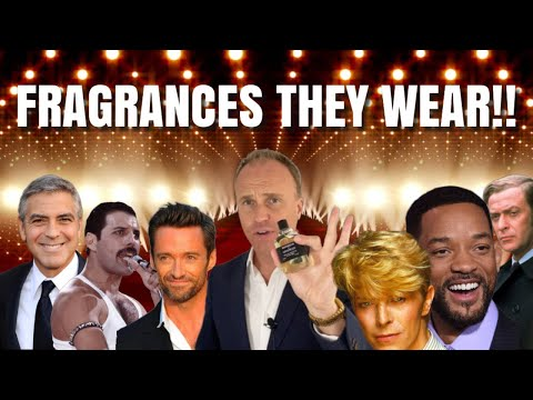 What Fragrances Do Celebrities Wear? - Top 10 Fragrance Review Video