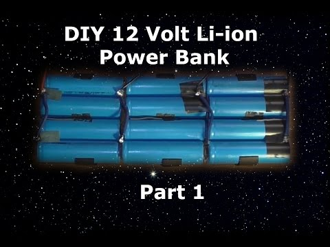 DIY 12V Lithium Battery Pack Part 1