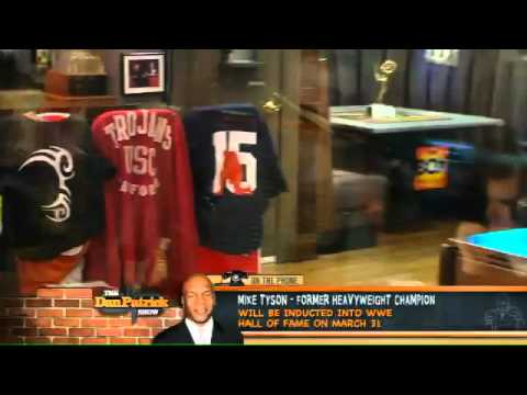 Mike Tyson On The Dan Patrick Show 2.21.12