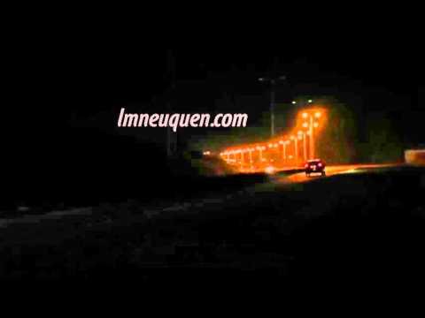Mirá cómo quedó el ingreso a Centenario con iluminación