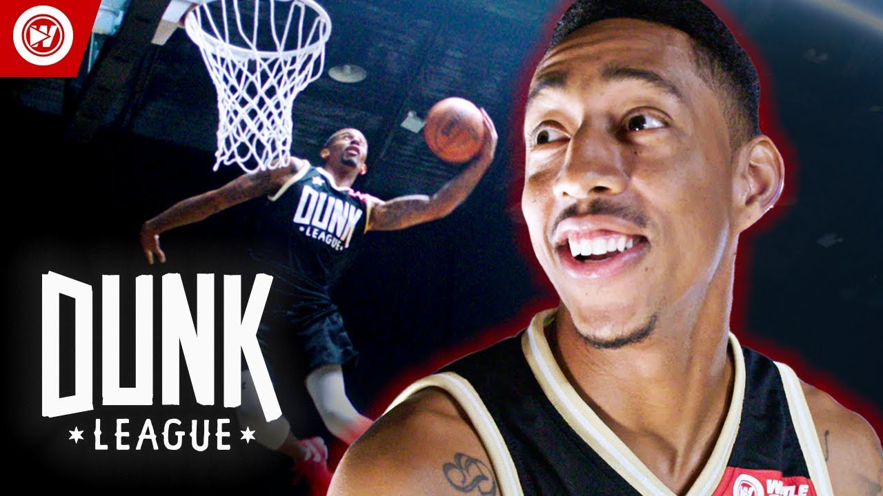 Never Before Seen DUNKS On Low Rim | $50,000 Dunk Contest image