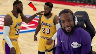 LEBRON JAMES  GAVE ME THIS ADVICE! NBA 2K19 MyCareer Ep. 116