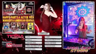 DJ RINDU AKU RINDU KAMU BY DJ TESSA MORENA   HAPPY PARTY 4 AKTOR PRIA MAHALNYA LAMONGAN RANTAU