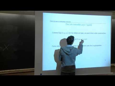 SHM - 16/01/15 - Constructivismes en mathématiques - Thierry Coquand