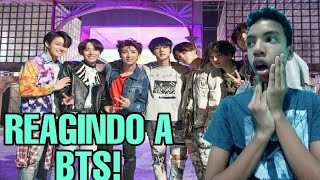 REAGINDO A FAKE LOVE DO BTS!