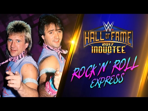 The Rock 'n' Roll Express join the WWE Hall of Fame Class of 2017