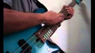 【ビリーシーンスタイル】NV4 3345 / Billy Sheehan Bass Solo (Full cover) #2