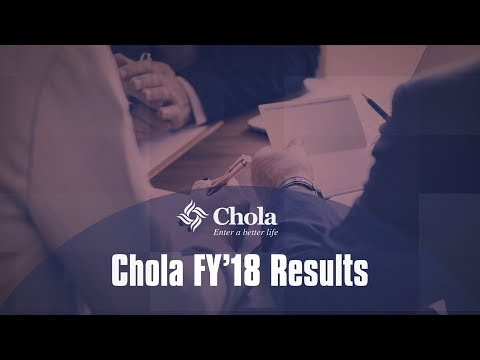 Chola FY'18 Results At A Glance