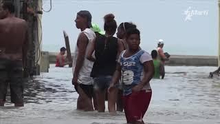 Imágenes del paso de Irma por Cuba