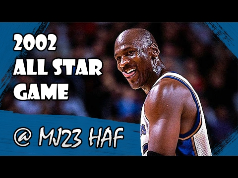 Michael Jordan Highlights (2002 All-Star Game) - 8pts, Must be getting old!