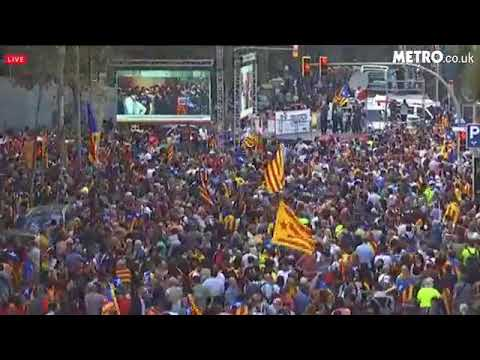 Catalan government votes to declare independence from Spain