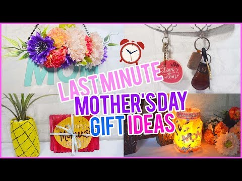 4 Last Minute Mothers Day Gift Ideas| DIY Crafts Easy Mothers Day Crafts