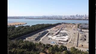 【東京2020大会】カヌー・スラローム会場 タイムラプス映像