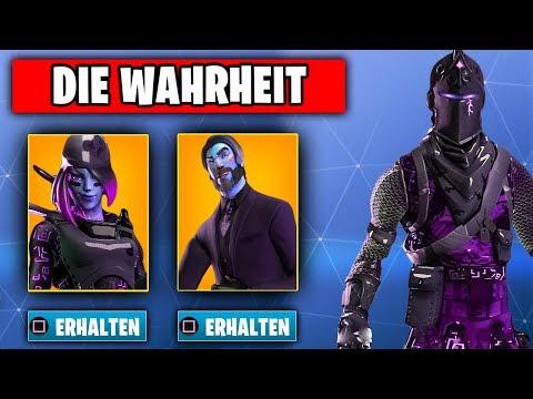 Die WAHRHEIT über Das NEUE Dark Dynasty Bundle Mit Schwarzen Ritter   Fortnite Season 8 Deutsch