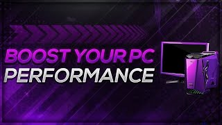 How To BOOST Your PC Performance! AWESOME TRICKS! Faster PC In Seconds!