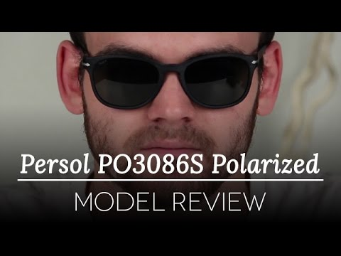 41c3dadd89 Persol Polarized Sunglasses Review - Persol Polarized PO3086S - YouTube