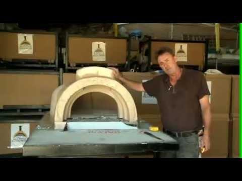 amalfi woodfired oven do it yourself youtube