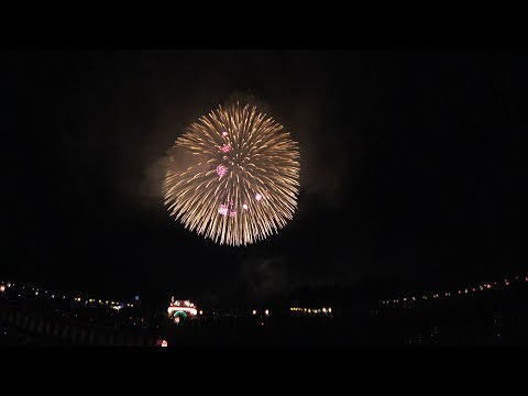 120cm(4 feet) and 90cm shell ! Largest Fireworks in the world 2017 四尺玉 片貝祭