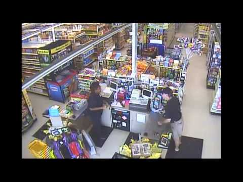 07 09 2015 Dollar General Suspect video image