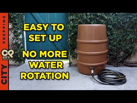 How to store water for emergencies: Waterfull Barrel review