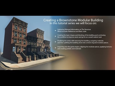 Creating a Modular Building for Games Part #1