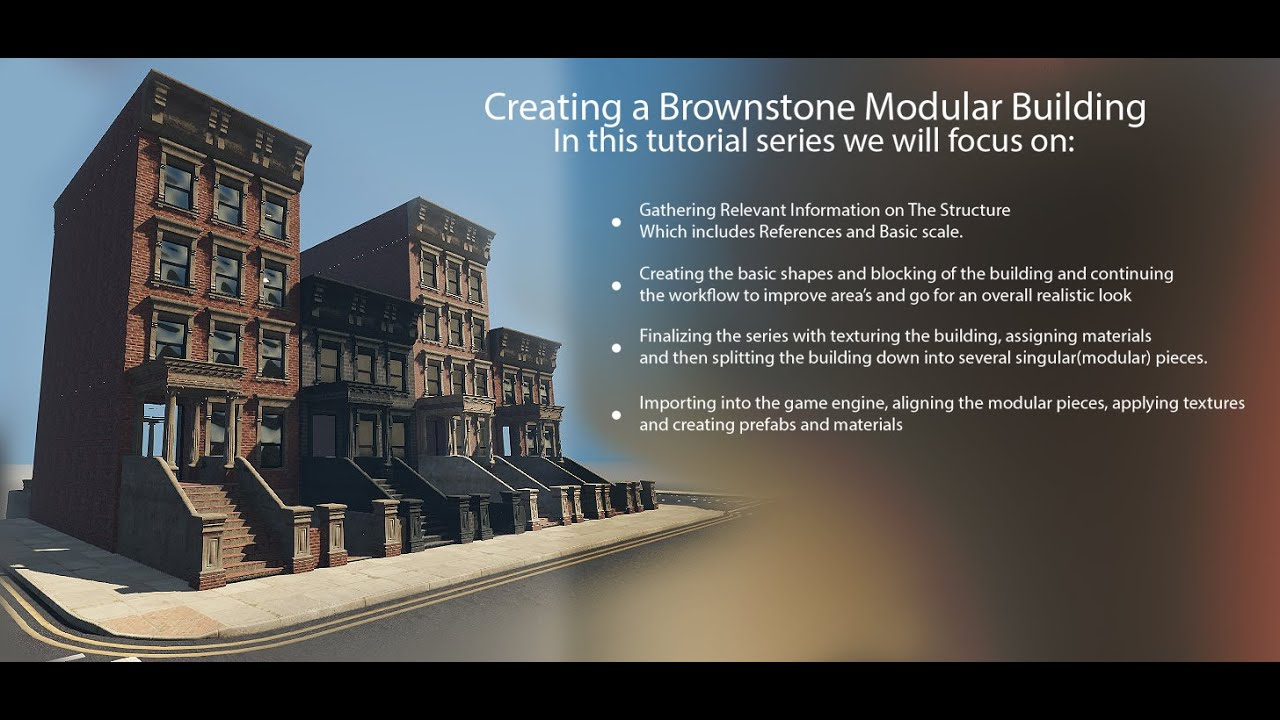 Modular Building creating a modular building for games part #1 - youtube