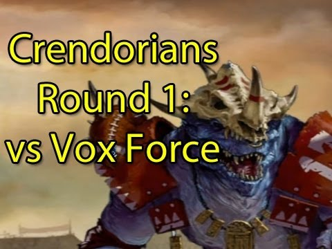 Round 1: TGS Blood Bowl League - Crendor vs Bebop Vox (Lil Skittles starts his REIGNbow)