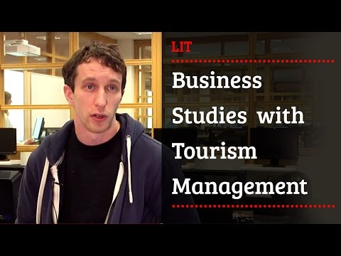 Business Studies with Tourism Management LC293 - Limerick Institute of Technology - LIT