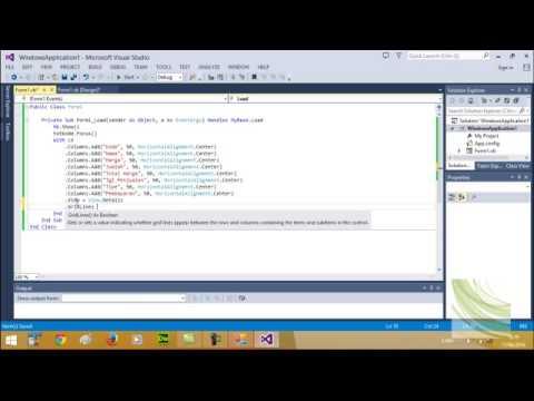 Cara Membuat Listview Visual Basic
