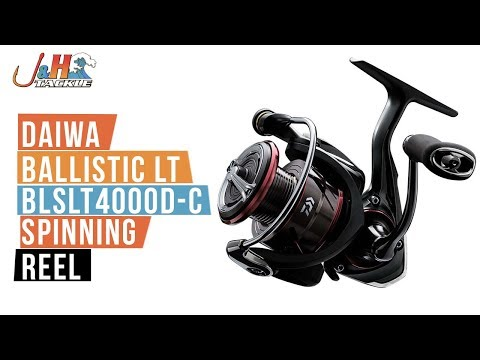 Daiwa Ballistic LT BLSLT4000D-C Spinning Reel | J&H Tackle