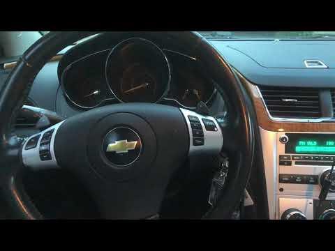 2010 Chevy Malibu Start Problems