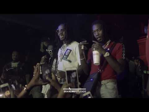 @Migos Performing Live @blissClubDc on 8/12/17 shot by @brandnustudios