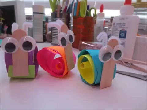 Snail Crafts For Kids