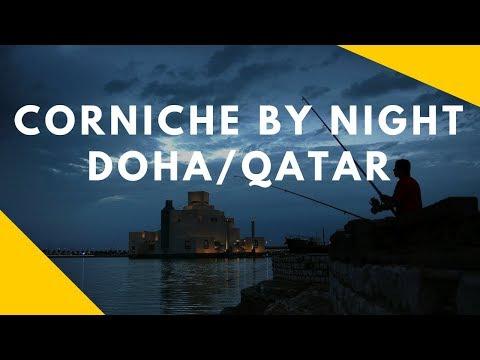 Vlog#8 Corniche by night, Doha, Qatar