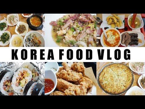 Korean Food Tour 🍲 Restaurants, cafes, street food l koreanisch essen I annyeounghanna