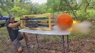 Шестистволка - шесть выстрелов одновременно | Разрушительное ранчо | Перевод Zёбры