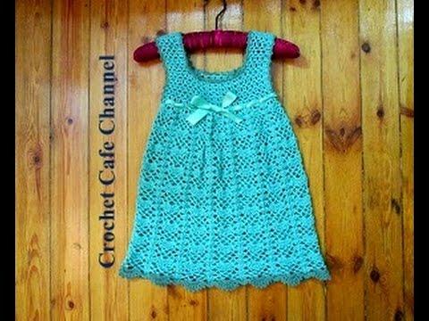 a8e5e381f  كروشيه فستان لطفلة أو Vest | #كروشيه_كافيه#Crochet Cafe - YouTube
