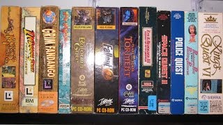 My PC games collection, revisited (100+ big boxes)