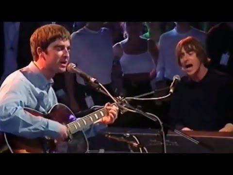 Oasis ft. Paul Weller - Talk Tonight (The White Room) *Remastered Audio*