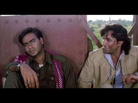 Ajay Devgn Asks Saif To Shut Up | Kachche Dhaage Movie Scene