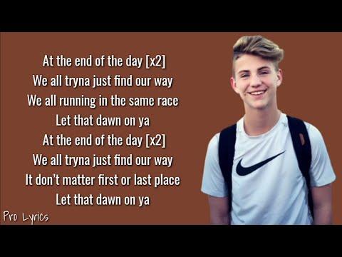 MattyBRaps - End Of The Day (Lyrics)