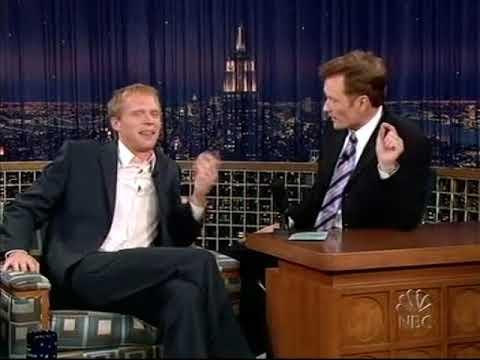 Conan O'Brien 'Paul Bettany 91604
