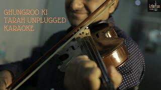 Ghungroo Ki Tarah | Chor Machaye Shor | Kishore Kumar | Unplugged Karaoke | Krintan Studios