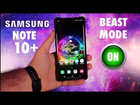 How To Activate Beast Mode On The Galaxy Note 10 Note 10 Plus