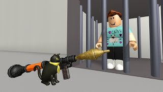 SIR MEOWS A LOT SAVES DENIS! - PART 1 (Roblox Movie)